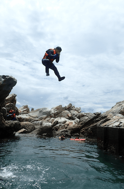浮潛和攀岩的精采體驗